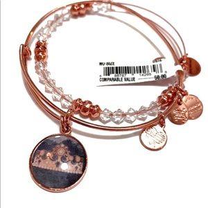 Alex and Ani Queen's Crown Bracelet Set